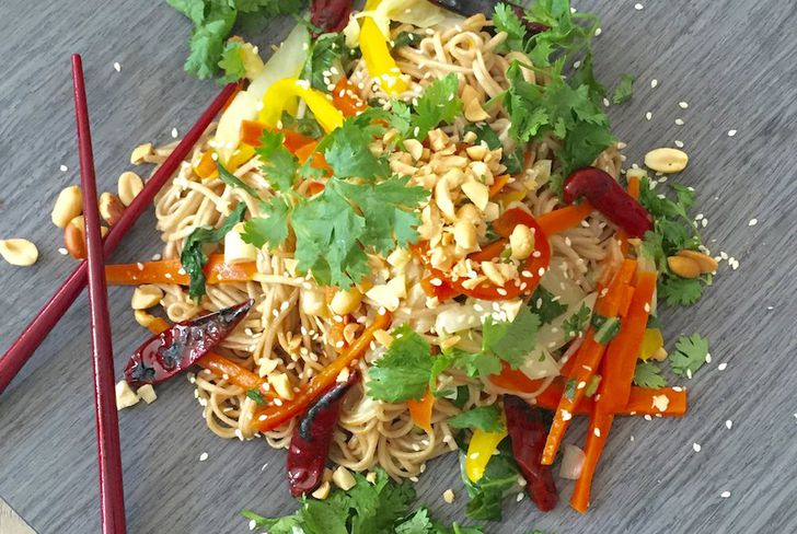 The perfect noodle recipe when it's too hot for anything else