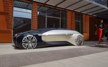 Renault unveils a beauty of an autonomous vehicle