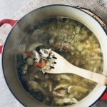 The perfect chicken soup recipe for when you're sick