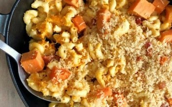Add this fall twist to your mac & cheese