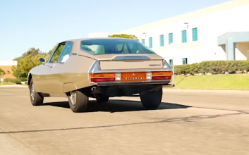 This 1974 'Citroen Maserati' was way ahead of its time