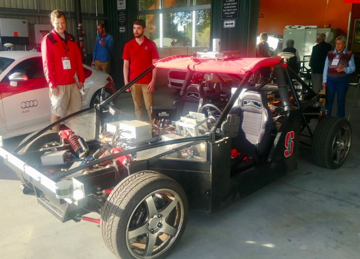 Testing tomorrow's car tech today at Stanford's CARS lab
