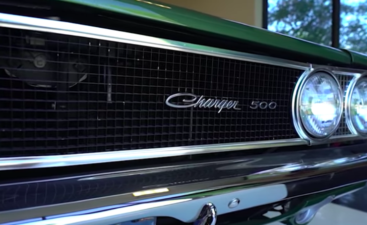 Rare, low-mileage, '69 Dodge Charger 500 shows off racing history