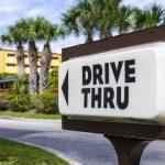 Fast food drive thru