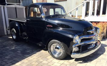 Buy hard: '54 Chevy truck built for Bruce Willis heads to auction