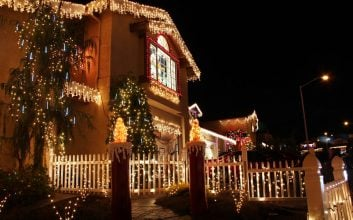 How to make sure your Christmas lights don't burn your budget