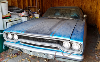 Has the lowest-mileage 1970 Road Runner been found in an Ohio garage?