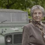 At 87, she gets a literal ride along Land Rover memory lane