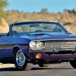 Rare 1970 Challenger Hemi R/T convertible set for Mecum auction