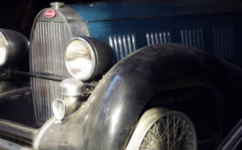 Bugatti barn find could fetch more than $1M at auction