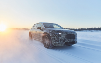 BMW begins testing 2021 iNext electric SUV on edge of Arctic Circle
