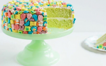 Lucky Charms... cake?