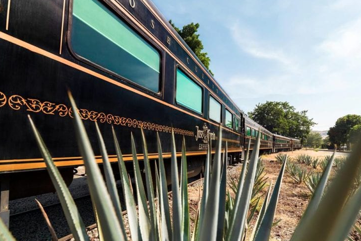 Jose Cuervo has an all-you-can-drink tequila train
