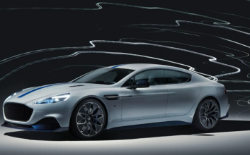 Aston Martin, Lotus and VW reveal new electric cars