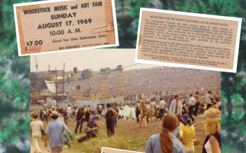Every single act that played at Woodstock