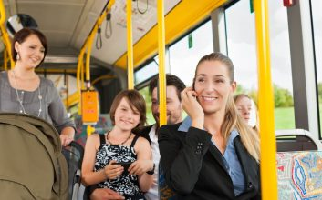 10 family-friendly cities with the best public transit
