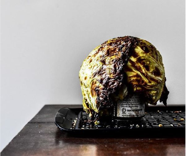 Summer's best grilling trend: Beer-can cabbage