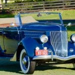 This 1936 Ford V8 Deluxe Phaeton is a joy to drive