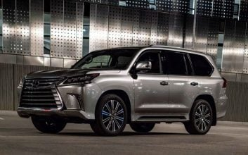 The LX570 is a luxury Lexus tank for the family
