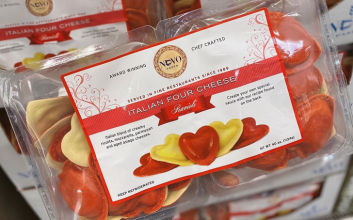 Costco's heart-shaped ravioli is back, just in time for Valentine's Day