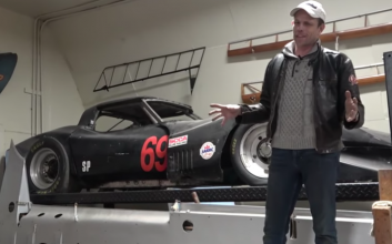 'Snoopy' Wessel's Greenwood 'vette offered at $5K ... but there's a catch