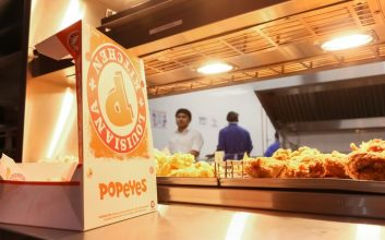 Guess how much Popeyes fried chicken this guy ate in one sitting