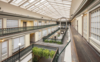 You can now live in America's oldest shopping mall
