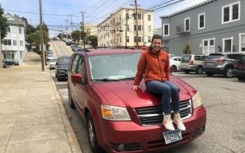 This woman has traded her way from a bobby pin to a car