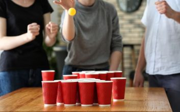 How one man helped the unemployed by playing virtual beer pong