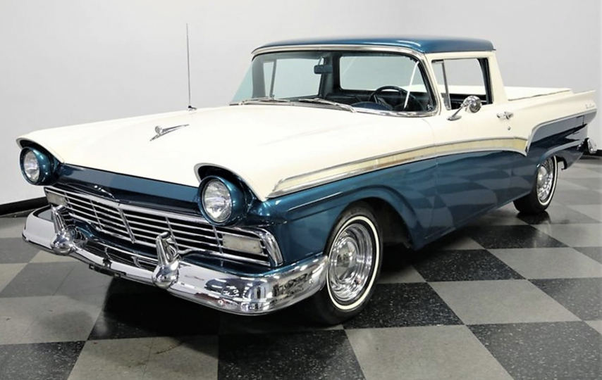 Check out the resto-mods on this '57 Ford Ranchero