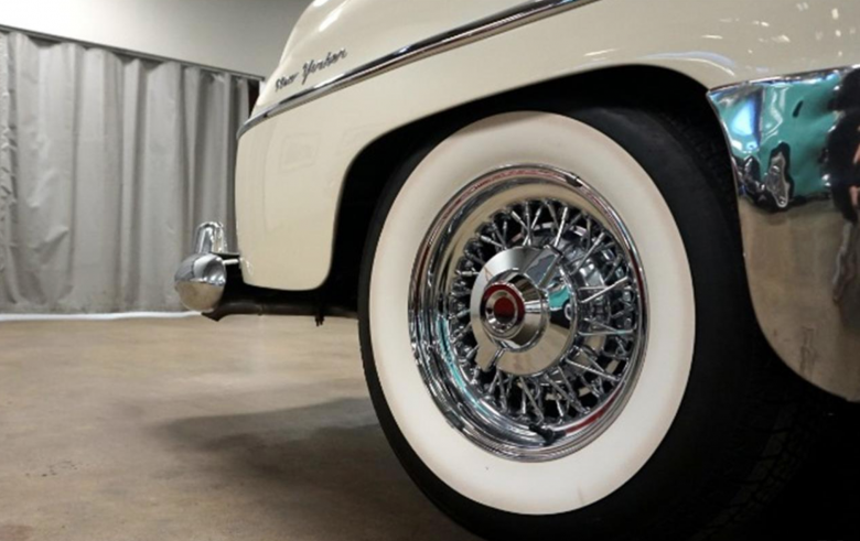 This '54 Chrysler wagon from the Harrah Collection is up for grabs