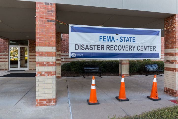 The states that depend most on FEMA aid