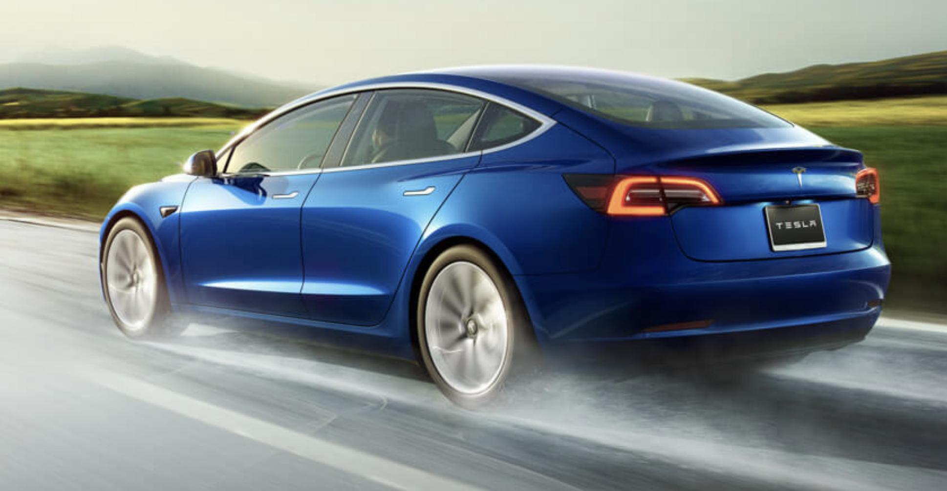 Tesla Model 3 Long Range - 322 miles, $46,990 - mediafeed