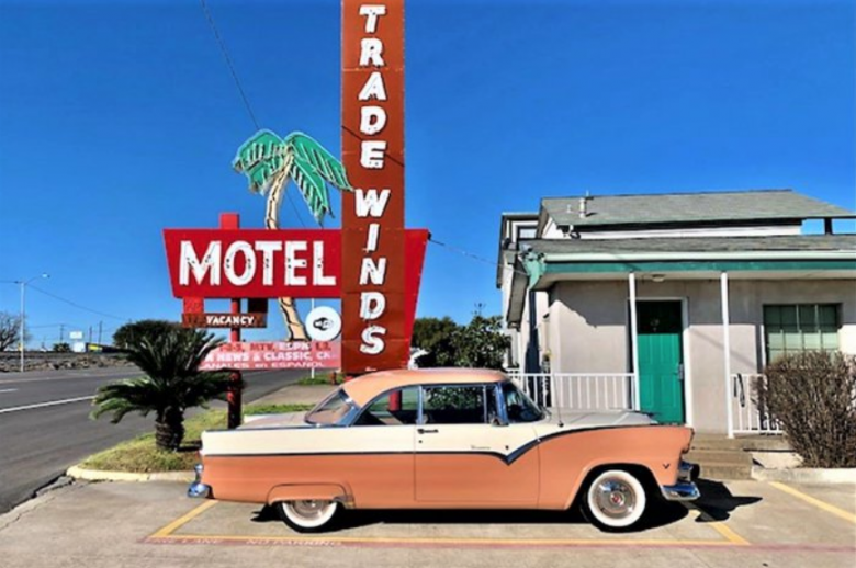 This '55 Ford Fairlane Victoria named Buck can be yours