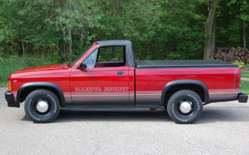 This limited-run, drop-top Dodge pickup is for sale