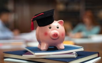 What is the average graduate student loan debt?