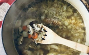 The perfect chicken soup to make if you're sick