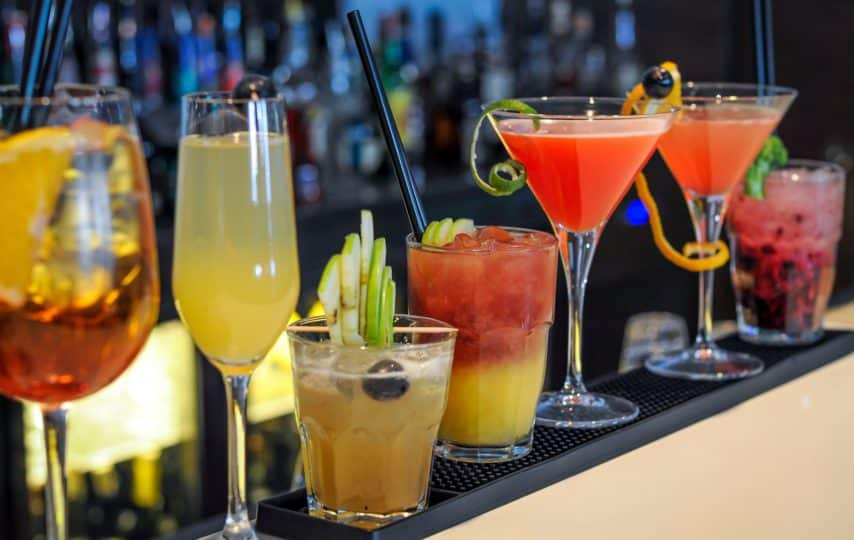 Most popular cocktails