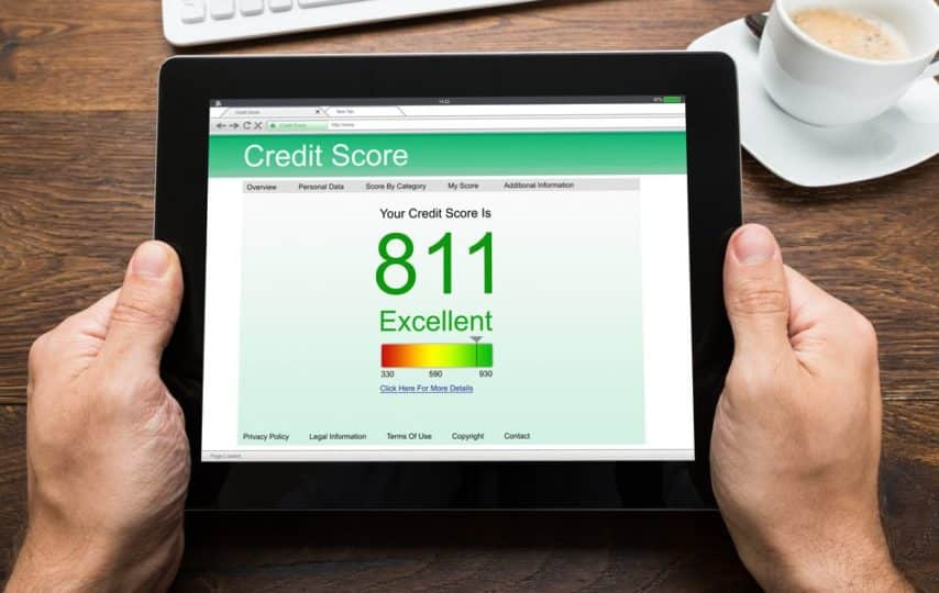 Average credit score in every state