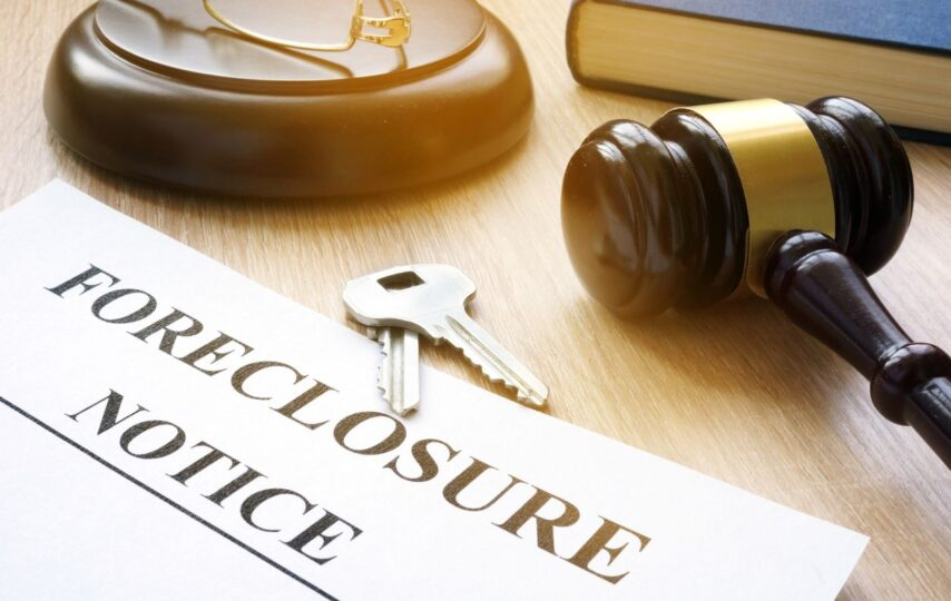 Top 30 states with mortgage foreclosures