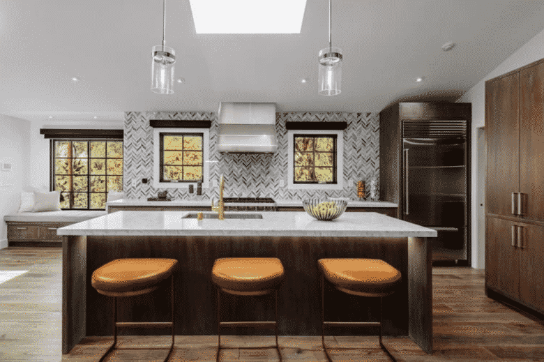 10 celebrity kitchens so gorgeous we can't even