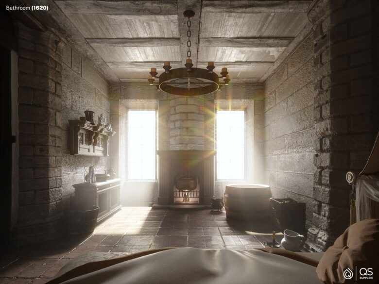 Bathrooms of the last 500 years, in pictures