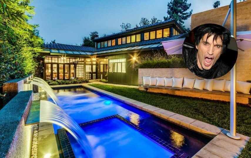 Rock star Tommy Lee's new home is a zen sanctuary