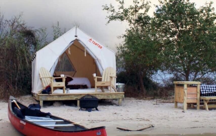 Extravagant glamping sites in every state