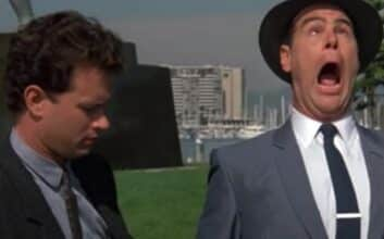 Tom Hanks and Dan Akroyd in Dragnet