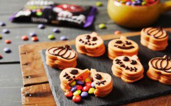 'Exploding' pumpkin cookies perfect for Halloween