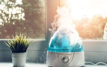 The benefits of sleeping with a humidifier — especially in winter
