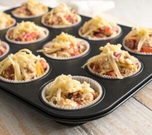 Tasty, bite-size appetizers you can make in a muffin tin
