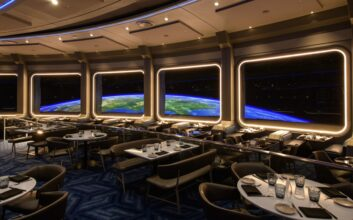 You can have dinner in 'outer space' at this restaurant